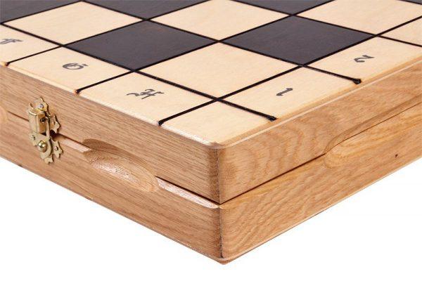 folding magnat chess set