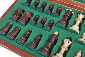 chess set senator wooden