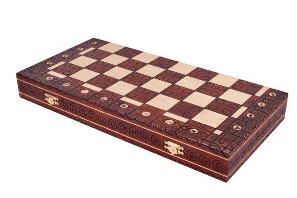 folding royal chess set