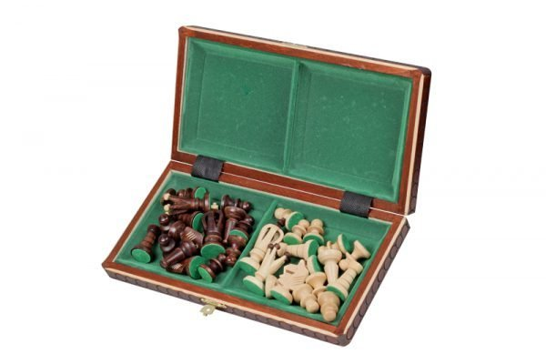12 inch royal chess set wooden