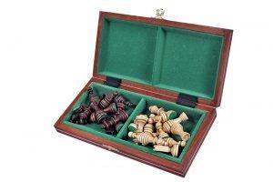 magnetic folding mini chess