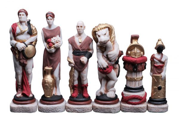 chess set spartacus 23 inch