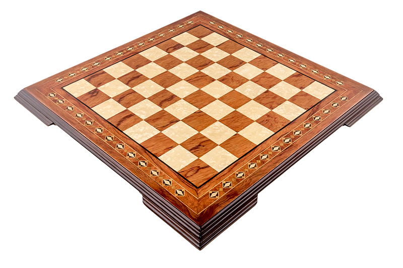 Wooden Chess Board Pearl