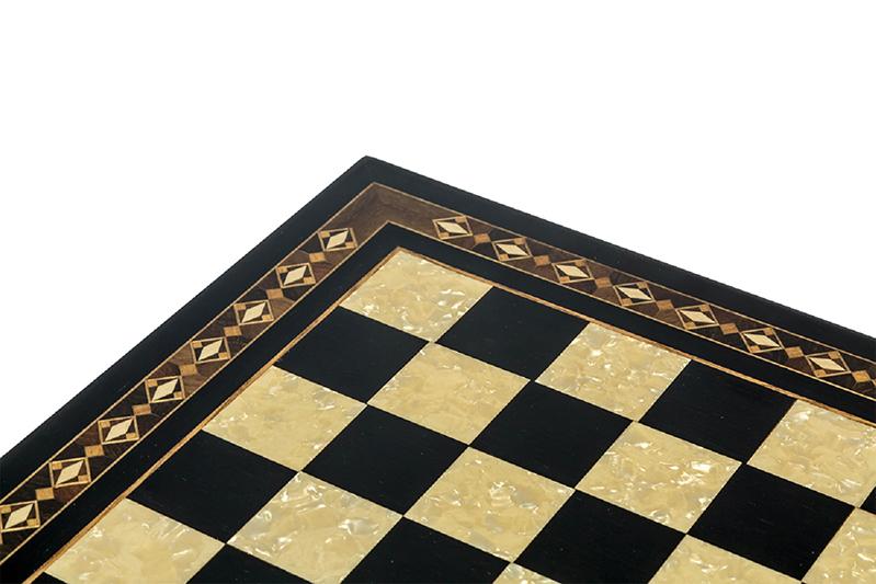 black pearl chess board