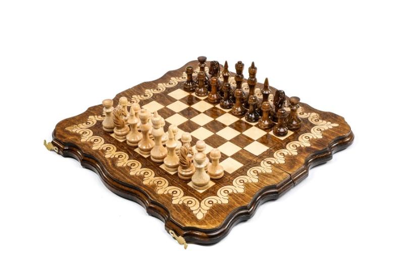 Zierschach-Backgammon 40 cm